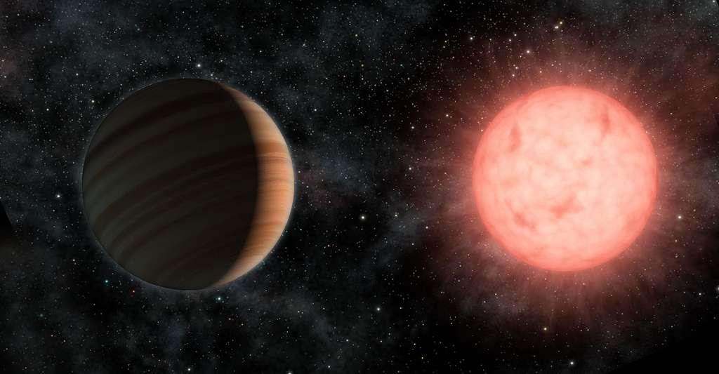 Corot a permis de détecter des exoplanètes. Ici, vue d'artiste d'une planète extrasolaire. © Nasa, JPL-Caltech, Wikimedia Commons, DP