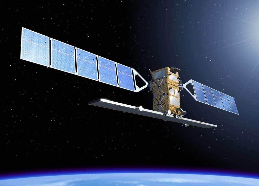 Sentinel 1 sera le premier satellite GMES à être lancé (en octobre 2013). Il doit assurer la continuité des données fournies par les radars SAR des satellites ERS et Envisat. © Esa