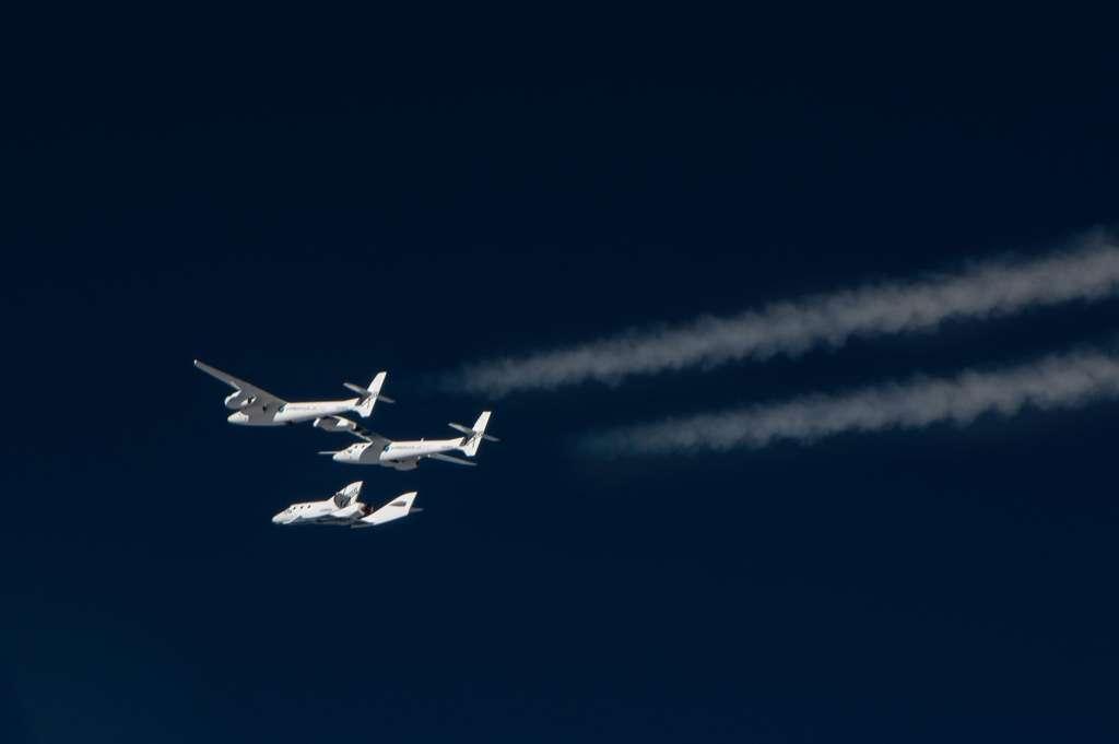Les vols d'essai du nouvel avion de Virgin Galactic devraient reprendre dans le courant de l'année. © Virgin Galactic