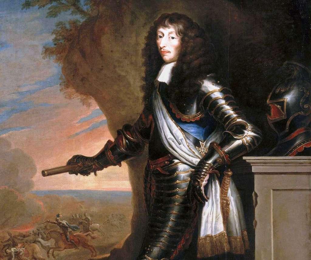 Portrait de Louis de Bourbon, prince de Condé dit « le Grand Condé », d'après Justus Van Egmont, fin XVIIe siècle. Château de Versailles. © Wikimedia Commons, domaine public