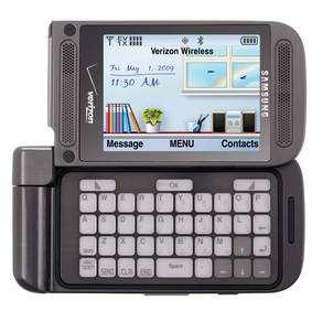 L'Alias 2 de Samsung illustre l'utilisation hybride des technologies d'affichage suivant les besoins, en l'occurrence ici l'Oled pour l'écran principal et l'E Ink pour le clavier. © Samsung