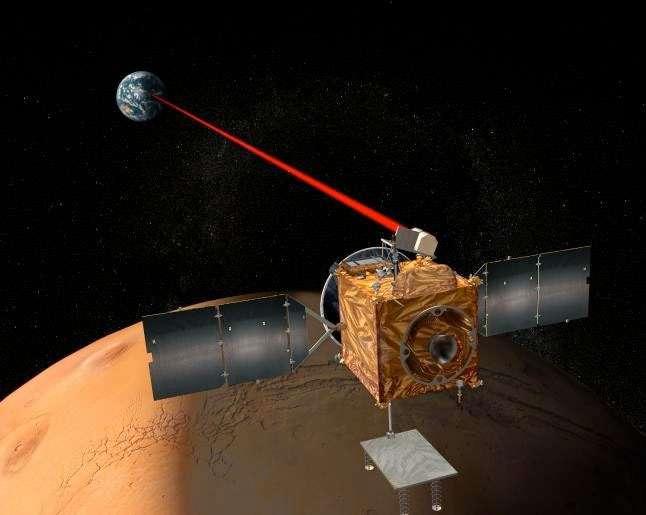 L'orbiteur Mars Telecommunications que la Nasa voulait lancer en 2009. Hélas, faute de budget suffisant, l'agence spatiale a été contrainte de l'abandonner. © Nasa, JPL