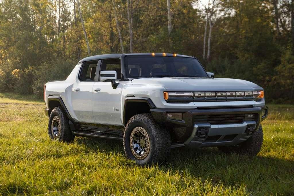 "Le Hummer EV dans sa livrée ""Edition 1"". © General Motors"
