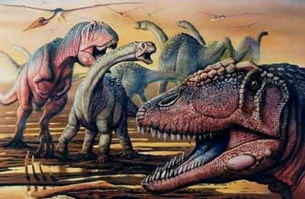 Carcharodontosaurus. © DR