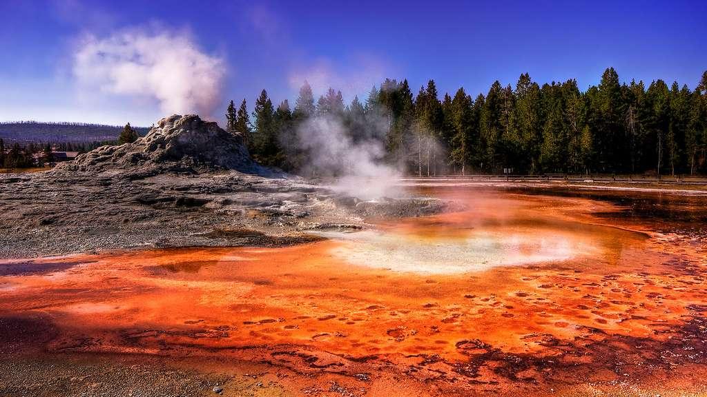 Les zones géothermiques de Yellowstone