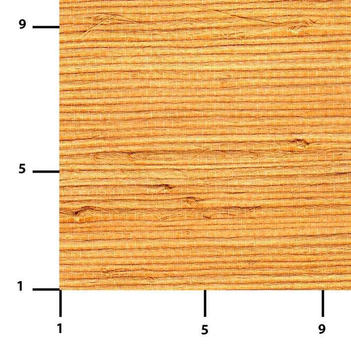 Paille japonaise entièrement réalisée à la main et collée sur papier fort. Les couleurs sont stables à la lumière. Le produit est facilement décollable. Il s'agit d'un rouleau de 0,90 x 5,5 m, soit environ 5 m2 (40 euros). © www.sol-mur-tradition.fr