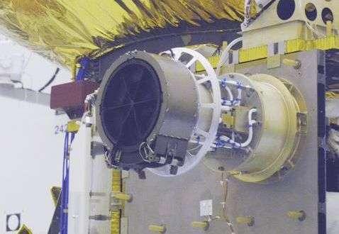 L'instrument Swap en place sur New Horizons. © SWRI
