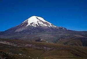Le vocan équatorien Chimborazo. Crédit A. Borsdorf