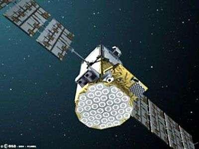 Giove-B en orbite (vue d'artiste). Crédit : Esa