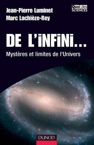 De l'infini, aux éditions Dunod, Quai des Sciences, Paris, 2005. © Dunod
