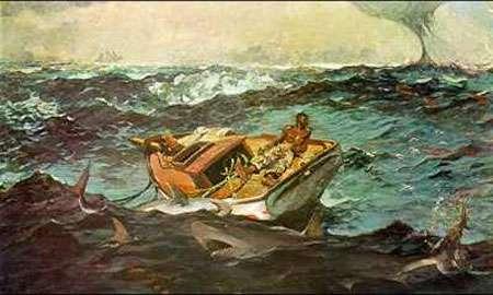 Figure 1 : Le Gulf Stream vu en 1899 par le peintre américain Winslow Homer Metropolitan Museum of art, New York.