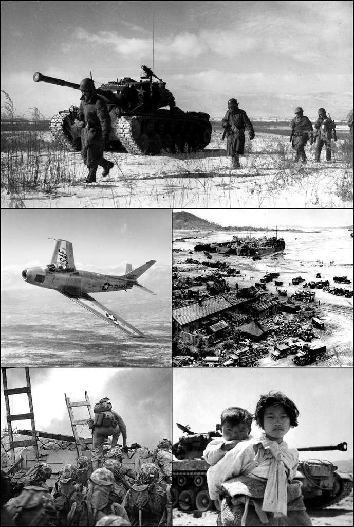 La guerre de Corée, qui opposait la Corée du Nord à la Corée du Sud, a fait plus de deux millions de victimes. © US government, Wikimedia Commons, DP