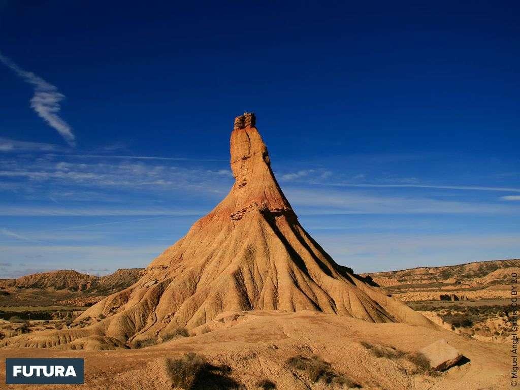 Le désert de Bardenas Reales en Espagne