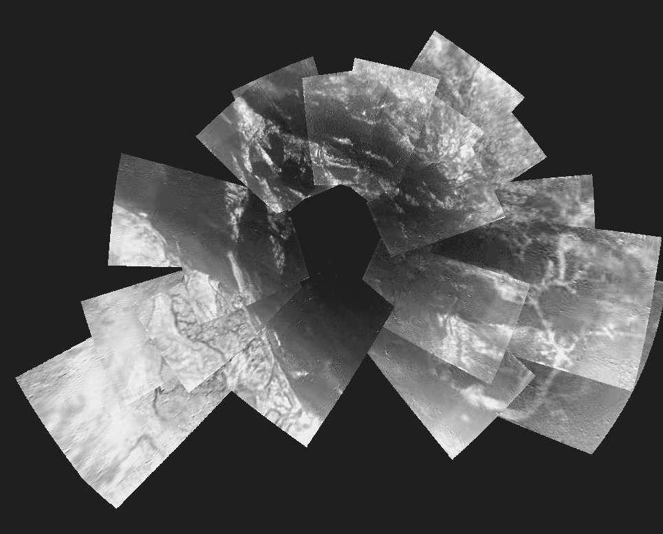 Grande mosaïque de Titan