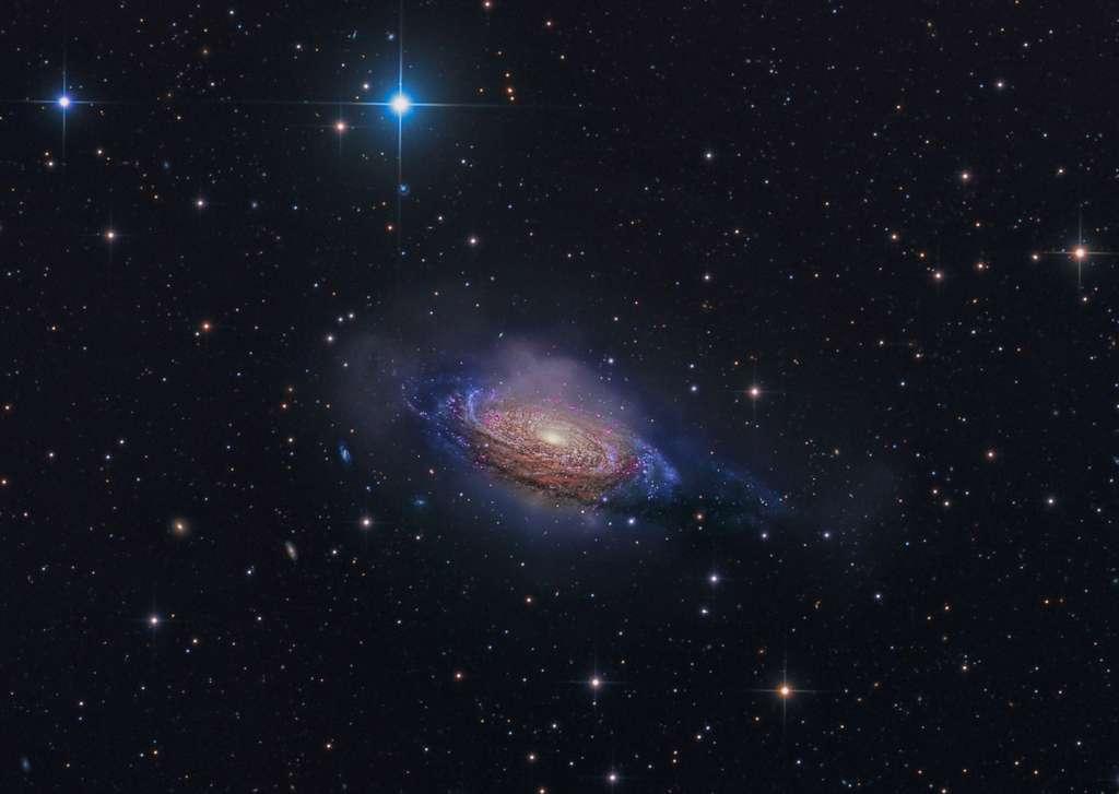 NGC 3521, une belle galaxie spirale dans l'Univers local. © Steven Mohr