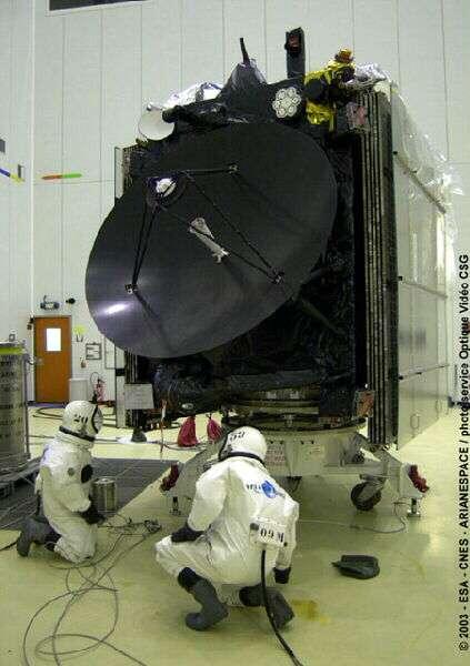 Remplissage des réservoirs de Rosetta