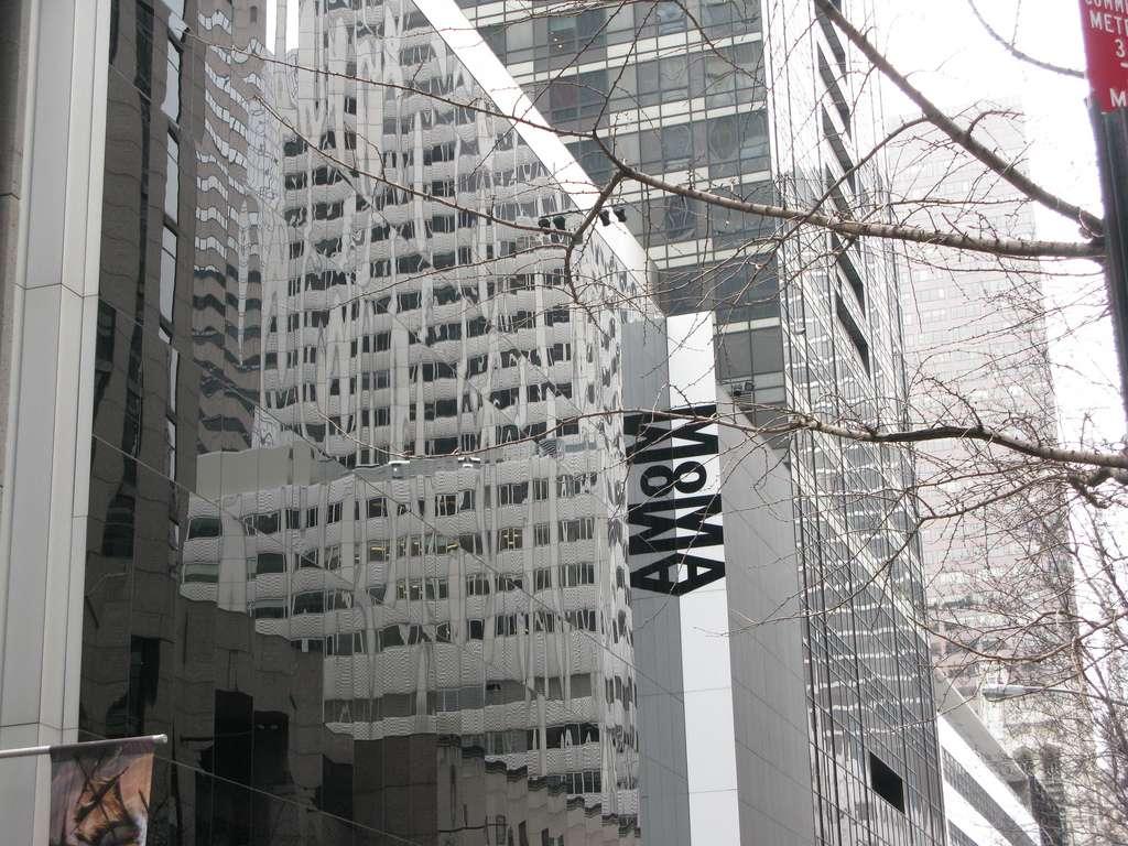 La façade du MoMa est déjà de l'art… Y serez-vous sensible ? © Salon Nowojorski, Flickr, CC by-nc-nd 2.0