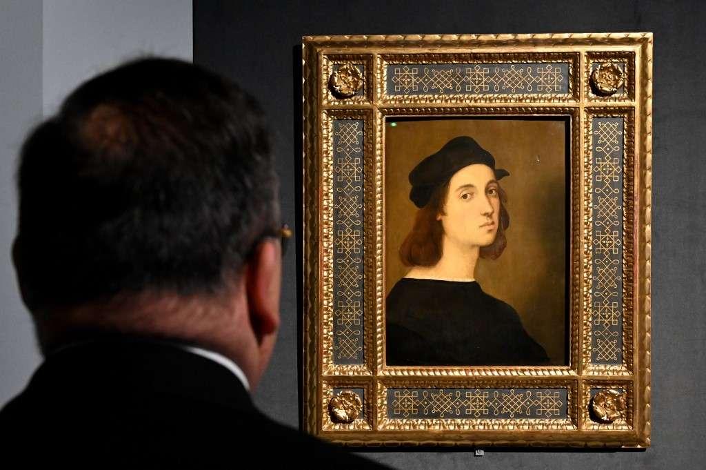 Le peintre de la Renaissance, Raphaël, ne serait pas mort de la syphilis. © Alberto Pizzoli, AFP