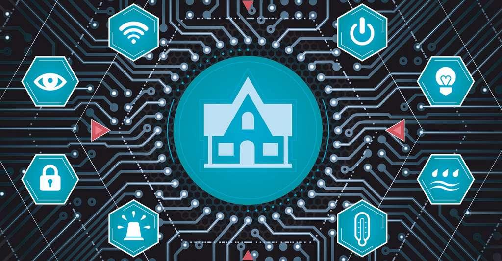 La domotique au service d'une maison intelligente. © Sergey Tarasov - Shutterstock