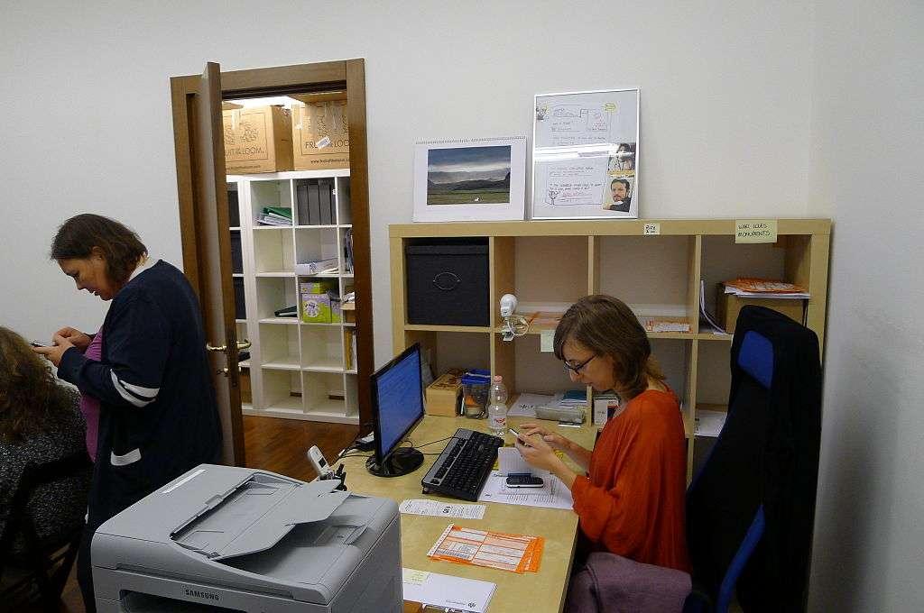 Travailler dans un petit groupe peut avoir un impact favorable sur la santé. © Laurentius, Wikimedia Commons, cc by sa 3.0