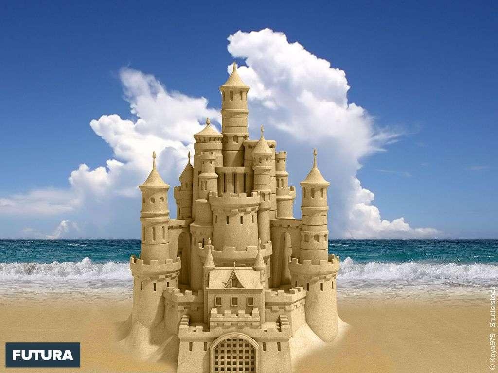 Plage et Château de sable