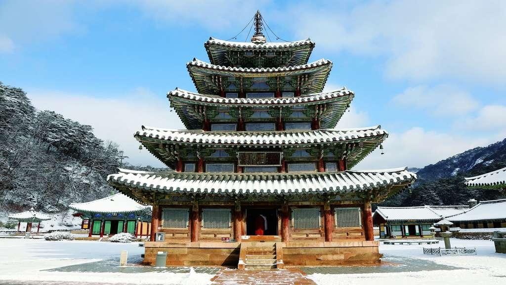 Corée du Sud : les Sansa, monastères bouddhistes de montagne