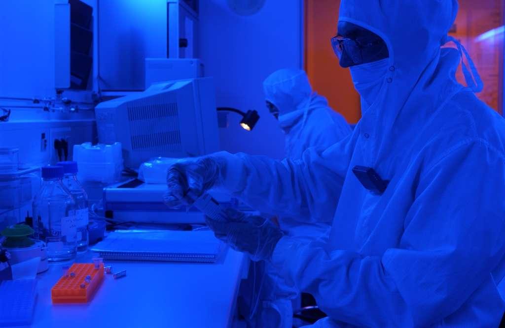 Le Leti explore des applications de l'électronique dans différents domaines et travaille également sur les nanotechnologies. © P.Stroppa, CEA