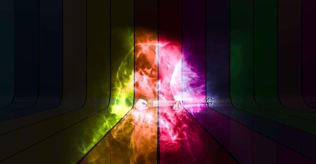 Entendre en couleurs ! © PeteLinforth - Domaine public