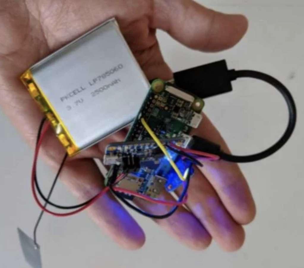 Pénétrer un réseau Wi-FI sans se trouver à proximité, c'est la technique testée par IBM avec ces petits composants associant un module Wi-Fi et une connectivité 3G. © IBM
