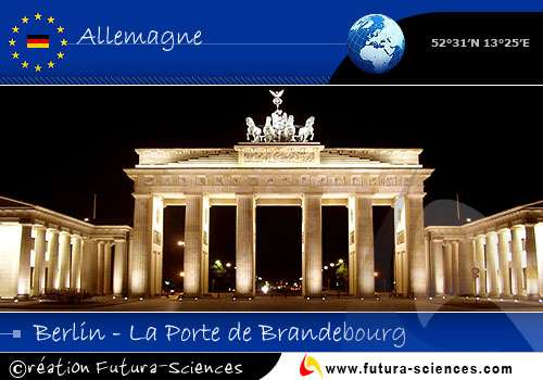 Capitale : Allemagne Berlin