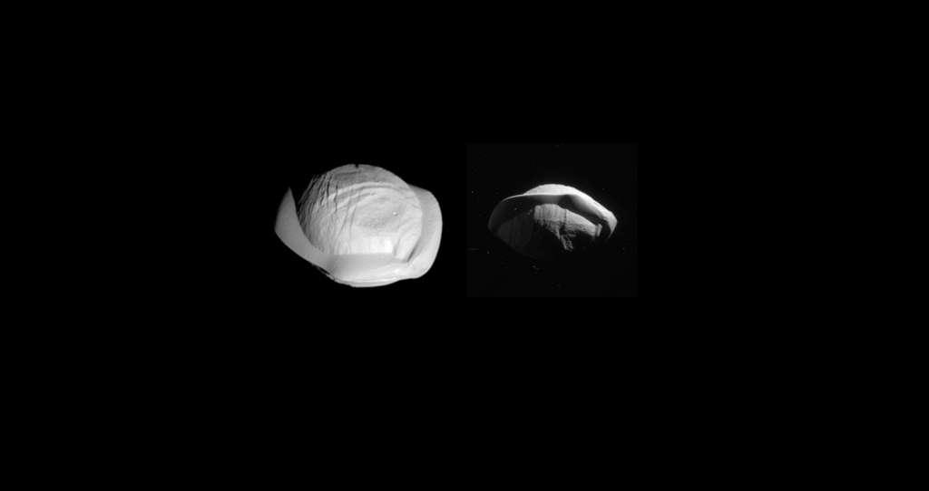 Pan, une soucoupe volante autour de Saturne
