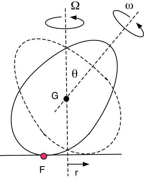 L'expérience de l'œuf en rotation a très longtemps confondu les physiciens. © Rod Cross