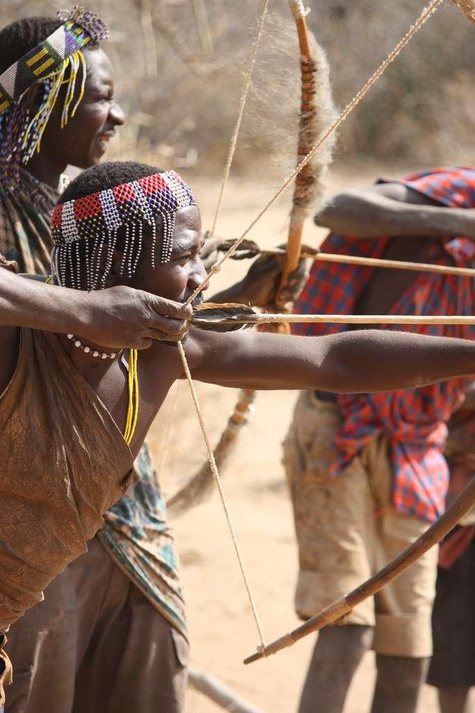Les Hadza de Tanzanie sont des chasseurs-cueilleurs. © Thiery, Flickr, CC by-nc 2.0