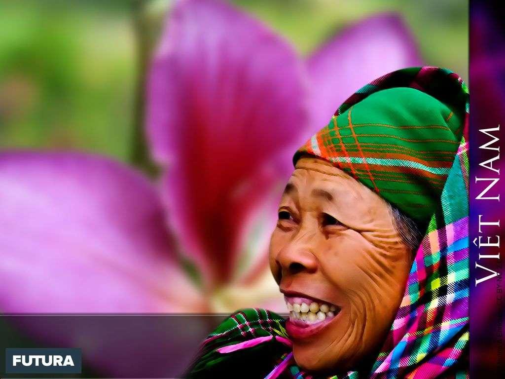 Femme du Nord Viet-Nam