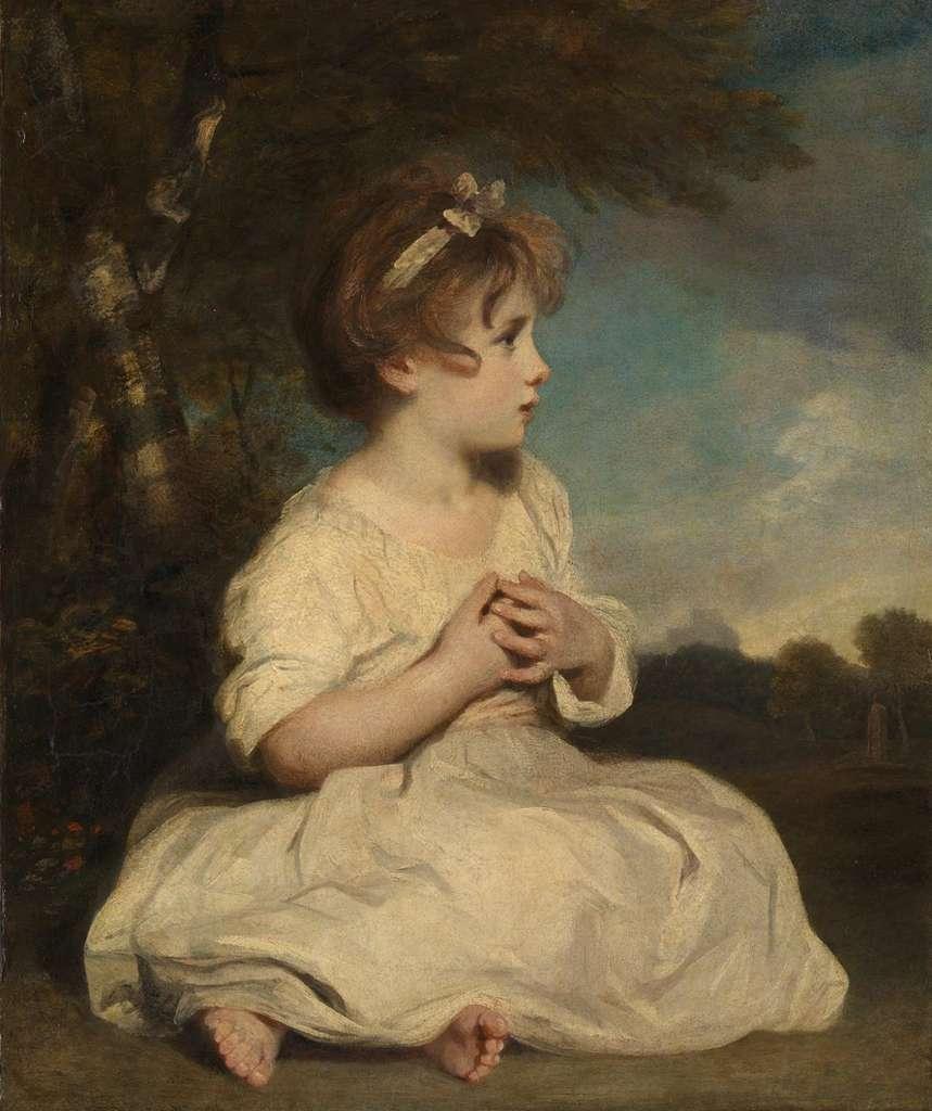 L'âge de l'innocence par Joshua Reynolds en 1788. Tate Britain, Londres. © Wikimedia Commons, domaine public