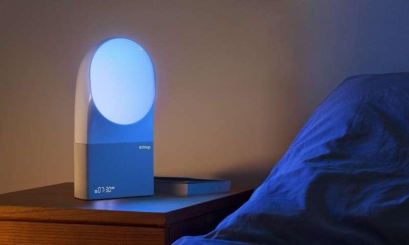 Aura est un simulateur d'aube connecté qui veille à votre bon sommeil. © Withings, Nokia