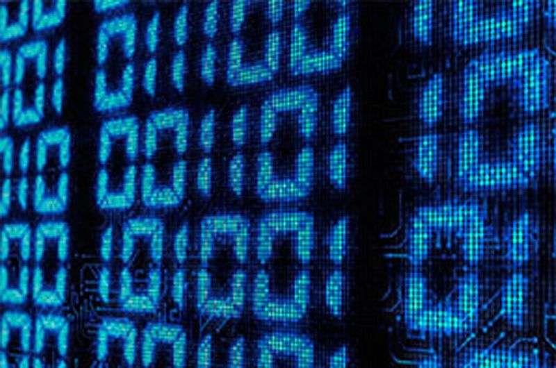Inspirés par le code génétique et les capacités de stockage de l'ADN, un groupe de chercheurs du CNRS a créé un code pour un polymère synthétique pouvant permettre d'enregistrer des informations en binaire. © Drexel University