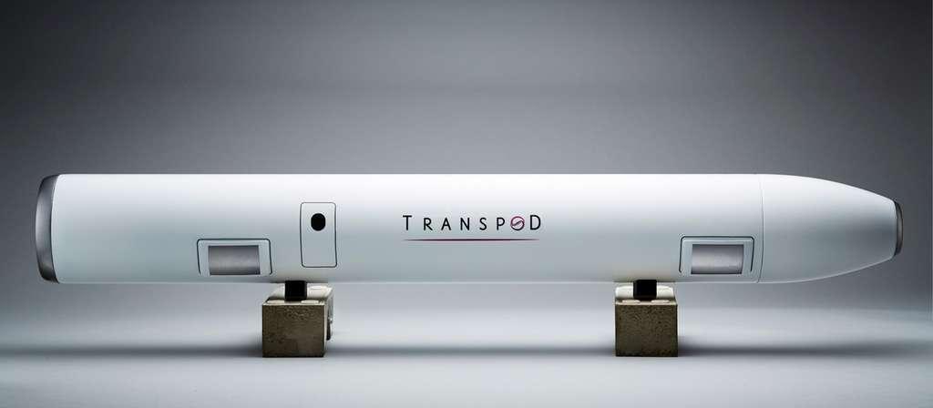 Voici à quoi ressemblerait la capsule TransPod. © TransPod