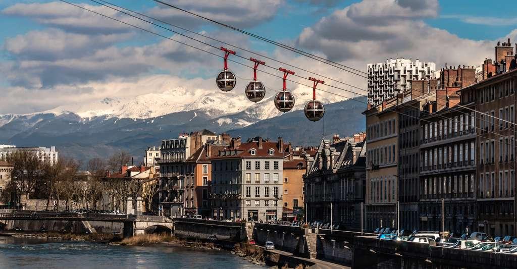 Grenoble est la grande ville la plus froide de France. © masetto, Fotolia