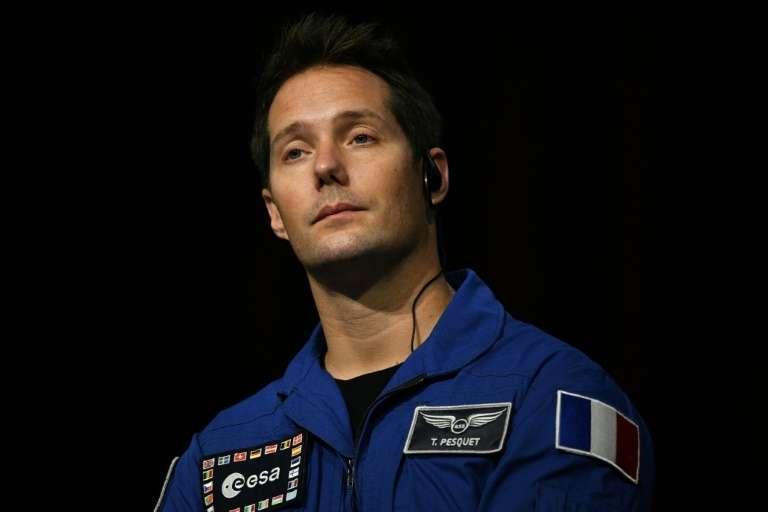L'astronaute Thomas Pesquet sera le prochain astronaute européen à retourner dans l'espace. Ici, lors d'une conférence de presse à Tokyo, le 19 septembre 2018. © Martin Bureau, AFP, Archives