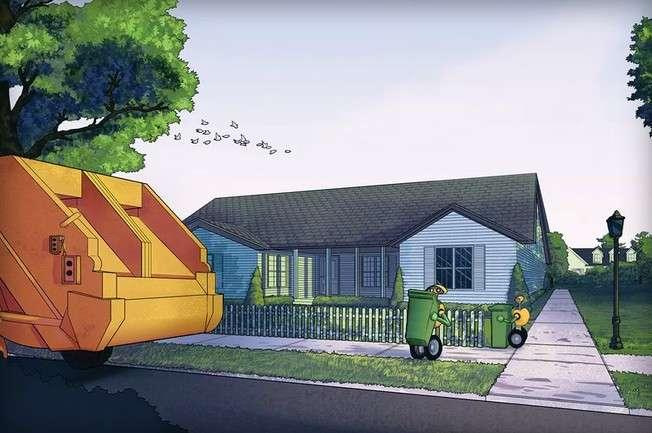 Le robot-éboueur sera testé à partir de l'année prochaine en juin. © Volvo