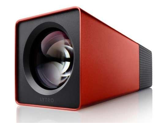 Un objectif ouvrant à f2, un zoom 8x, un déclencheur, un petit écran à l'arrière, une coque en aluminium coloré : l'aspect du Lytro n'est pas conventionnel. Le cœur de l'appareil non plus. © Lytro