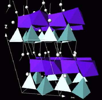Kaolinite, structure phyllosilicate.