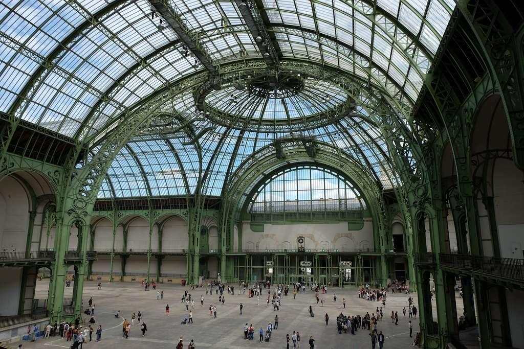 La nef du Grand Palais à Paris. © Julien Chatelain, Flickr