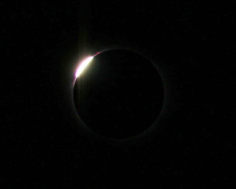 Eclipse du 29 Mars : Anneau de diamant