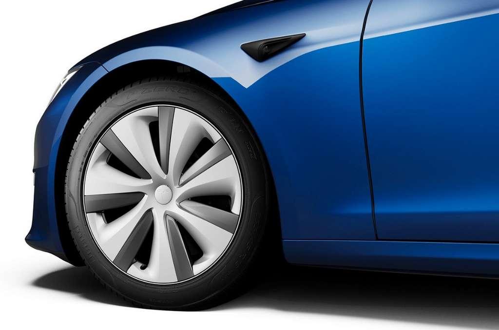 Les Tesla sont dotées de caméras qui filment tout autour du véhicule. © Tesla