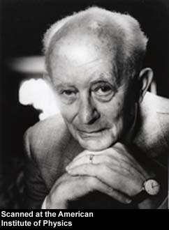 Le prix Nobel Max Born (1882-1970), le grand-père d'Olivia Newton-John.