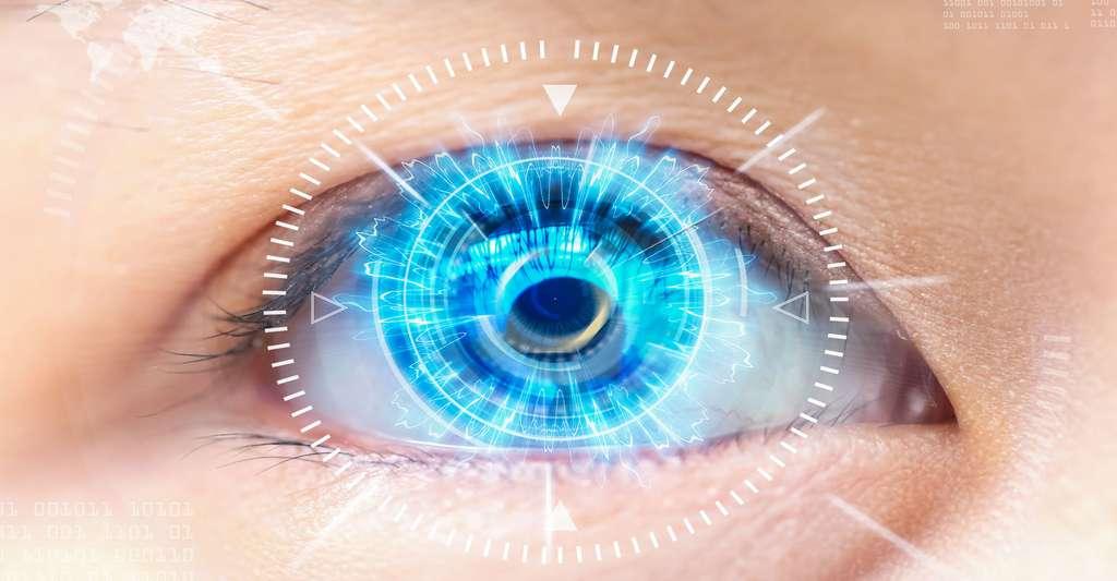 Technologie futuriste, réalité virtuelle pour la cataracte. © Chakrapong Zyn, Shutterstock
