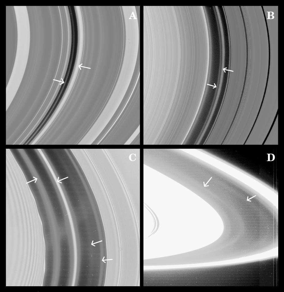 Les anneaux de Saturne et la division de Maxwell