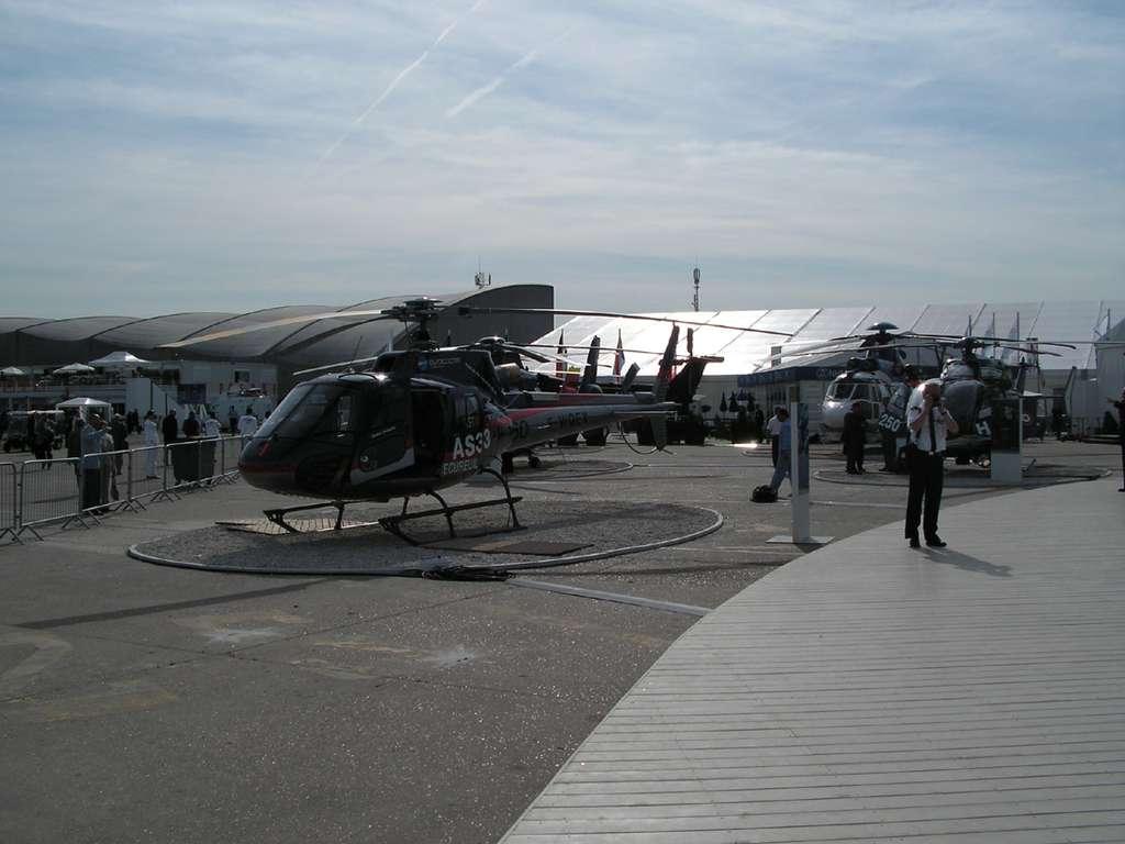 Les hélicoptères d'Eurocopter